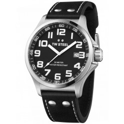 TW Steel Mens Black Dial Watch TW0409