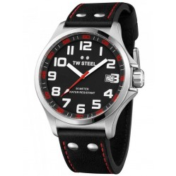 TW Steel Mens Pilot 45mm Watch TW0410