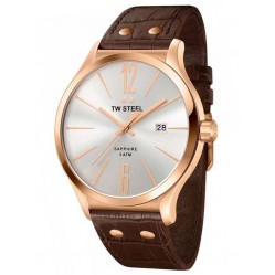 TW Steel Mens Slim Line Strap Watch TW1304