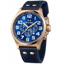 TW Steel Mens  Pilot Chronograph Watch TW0407