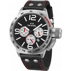 TW Steel Mens Canteen Chronograph Strap Watch TWCS8