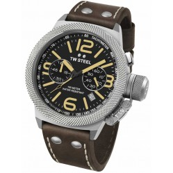 TW Steel Mens Canteen Chronograph Strap Watch TWCS34
