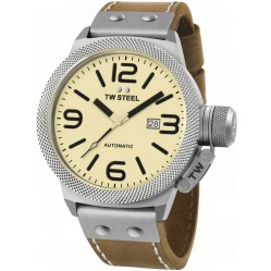 TW Steel Mens Automatic Strap Watch TWCS16