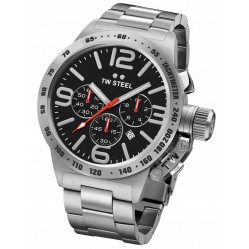 TW Steel Mens Canteen Chronograph Bracelet Watch TWCB7