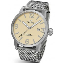 TW Steel Mens Stainless Steel Strap Watch TWMB1