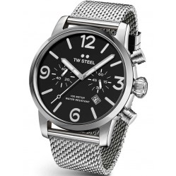 TW Steel Mens Stainless Steel Maverick Watch TWMB14