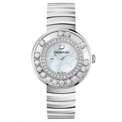Swarovski Lovely Crystals White Mother of Pearl Bracelet Watch 1160307