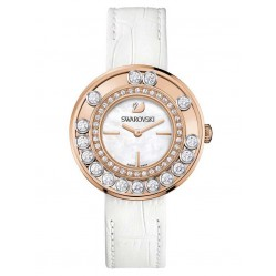 Swarovski Ladies White Strap Watch 1187023