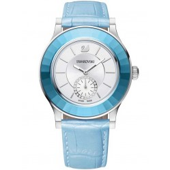 Swarovski Ladies Octea Classica Light Blue Strap Watch 5131874