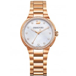 Swarovski City Mini Rose Gold Bracelet Watch 5221176