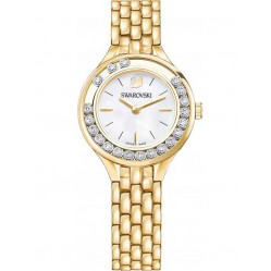 Swarovski Lovely Crystals Mini Gold Tone Bracelet Watch 5242895