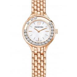 Swarovski Lovely Crystals Rose Gold Plated Bracelet Watch 5261496