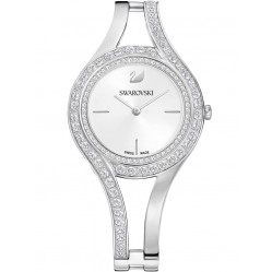 Swarovski Eternal Silver Tone Bracelet Watch 5377545