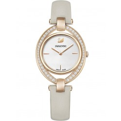 Swarovski Stella Grey Strap Watch 5376830