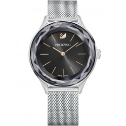 Swarovski Ladies Octea Nova Mesh Black Watch 5430420