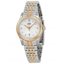 Oris Ladies Classic Date Bracelet Watch 561-7650-4331-07B