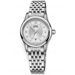 Oris Ladies Classic Date Bracelet Watch 561 7650 4031-07B