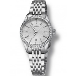 Oris Ladies Artelier Diamond Date Watch 7722 4951-07-MB