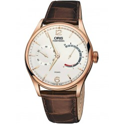 Oris Mens 110 Year Limited Edition Watch 110 7700 6081-SET LS