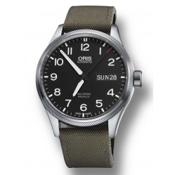 Oris Men's ProPilot Day Date Watch 752 7698 4164-07 5 22 14