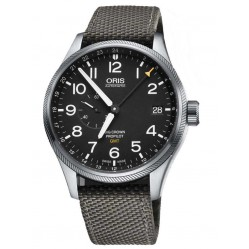 Oris Mens Big Crown Fabric Watch 748 7710 4164-07SW