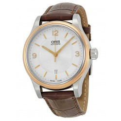Oris Mens Classic Automatic Strap Watch 733 7594 4331-07LS