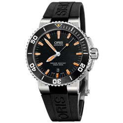 Oris Mens Aquis Automatic Strap Watch 733 7653 4159-07RS