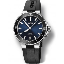 Oris Aquis Date Black Rubber Strap Watch 733 7731 4135-07 4 18 64FC