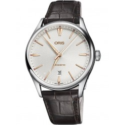 Oris Mens Artelier Chronometer Watch 737 7721 4031-07 LS