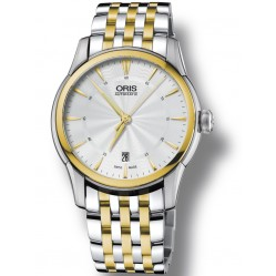 Oris Mens Artelier Bracelet Watch 73376704351-07B