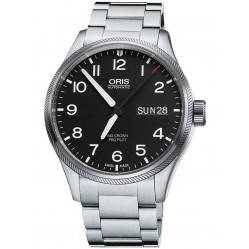 Oris Mens Big Crown ProPilot Big Day Date Bracelet Watch 751 7697 4164-07 8 20 19