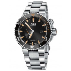 Oris Mens Carlos Coste Bracelet Watch 743 7709 7184-SET MB