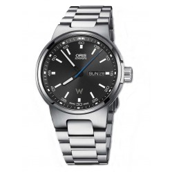 Oris Mens Williams Black Dial Watch 735 7716 4154-07B