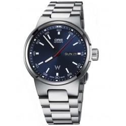 Oris Mens Williams Blue Dial Watch 735 7716 4155-07B