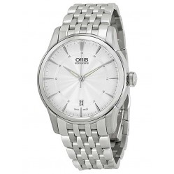 Oris Mens Artelier Date Watch 733 7670 4051-07B