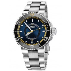 Oris Mens Great Barrier Reef Limited Edition II Stainless Steel Bracelet Watch 735 7673 4185-SET MB