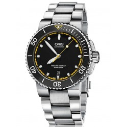 Oris Aquis Date Stainless Steel Bracelet Watch 733 7653 4127-07PEB