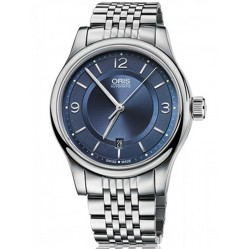 Oris Mens Classic Automatic Bracelet Watch 733 7594 4035-07B