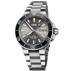 Oris Mens Hammerhead Limited Edition Bracelet Watch 752 7733 4183-SET MB