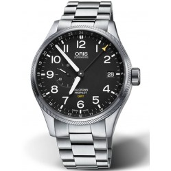Oris Mens Big Crown ProPilot GMT Date Bracelet Watch 01 748 7710 4164-07 8 22 19