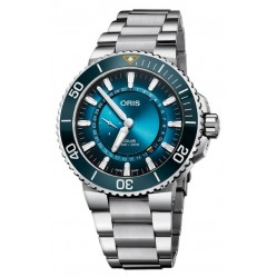 Oris Mens Aquis Great Barrier Reef Limited Edtion III Watch 743 7734 4185-SET MB