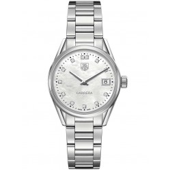 TAG Heuer Ladies Carrera 12-Diamond Watch WAR1314.BA0773