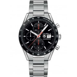 Tag Heuer Mens Carrera Chronograph Bracelet Watch CV201AK.BA0727