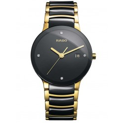 Rado Mens Centrix Ceramic Watch R30929712 L