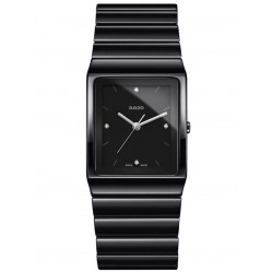 Rado Mens Ceramica Diamond Dial Bracelet Watch R21700702 L