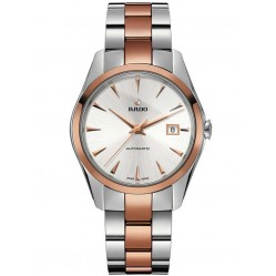 Rado Mens HyperChrome Automatic Rose Ceramic and Steel Bracelet Watch R32980112