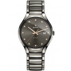 Rado Mens True Automatic Diamonds Bracelet Watch R27057732