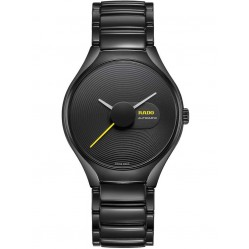 Rado Mens True Stratum Limited Edition Black Ceramic Bracelet Watch R27071182