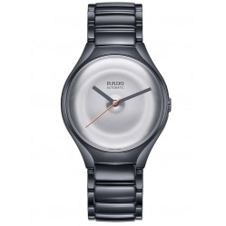 Rado Mens True Face Limited Edition Grey Ceramic Bracelet Watch R27236112