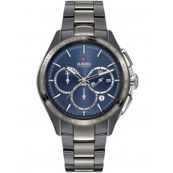 Rado Mens Blue Limited Edition Black Bracelet Watch R32024202